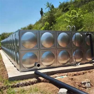 抚顺不锈钢拼装水箱厂家供货新闻 不锈钢成品水箱