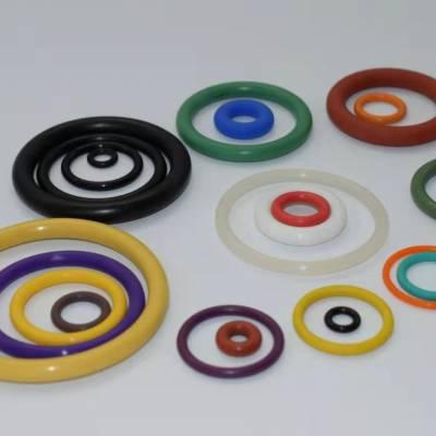 现货供应发光硅胶O型圈 8*6*1mm荧光O形圈 指尖陀螺硅胶O型圈