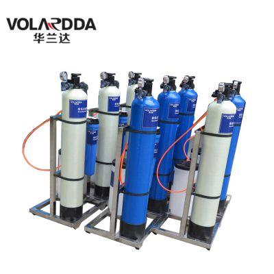 风景别墅区蒸汽锅炉软水器 3T/H软化水设备带自动反冲洗功能 选华兰达厂家