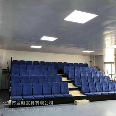 伸缩看台手动电动折叠可移动体育场看台座椅篮球馆活动阶梯休息椅