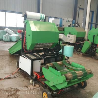 青贮草料打捆机 圣隆机械 铡草揉丝机专业生产厂家