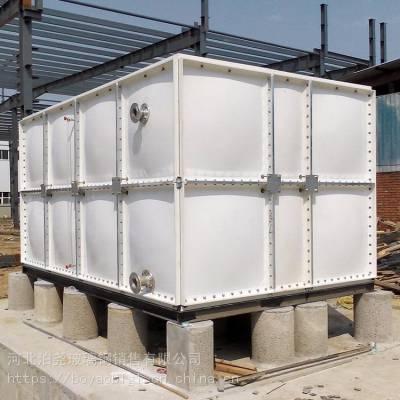 玻璃钢组合水箱_搪瓷钢水箱图片_大型组合水箱