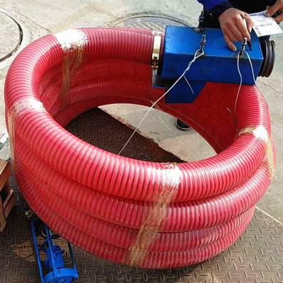 不费力气能搬运粮食吸粮机 车载抽粮机 定制双节抽料机厂家直销吸沙机