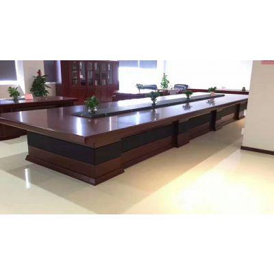 办公家具简约现代烤漆老板桌总裁桌大气单人办公桌组合实木大班台