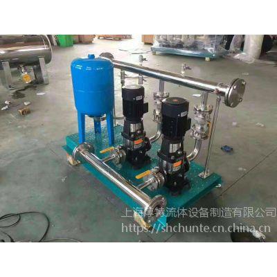泉州不锈钢恒压供水设备供应商/泉州全自动变频恒压加压设备