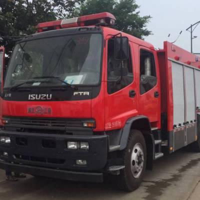 江南 五十铃6吨水罐消防车,整车采用国内进的生产工艺与技术-消防车价格