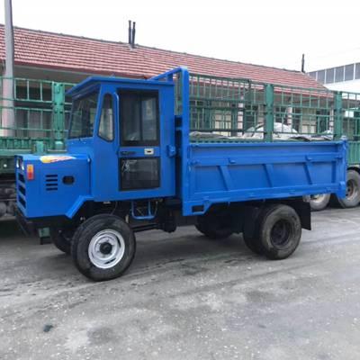 四轮驱动后翻自卸四不像 四轮双顶自卸拖拉机 运输混凝土载重3吨