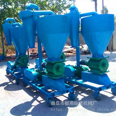 大米入库气力吸粮机 粮食卸车气力吸粮机 30吨软管吸粮机厂家qk