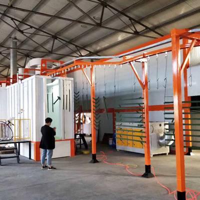铝合金粉末喷涂设备,新月国内喷涂设备机械行业的知名企业
