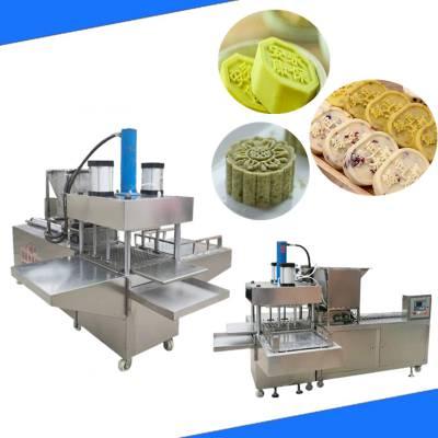 绿豆糕机器多少钱|我爱发明专访过三次的绿豆糕机设备厂家直销