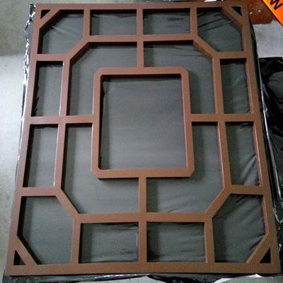 品牌氟碳铝单板幕墙厂家定制价格低 镂空雕花冲孔木纹石纹铝单板窗花隔断