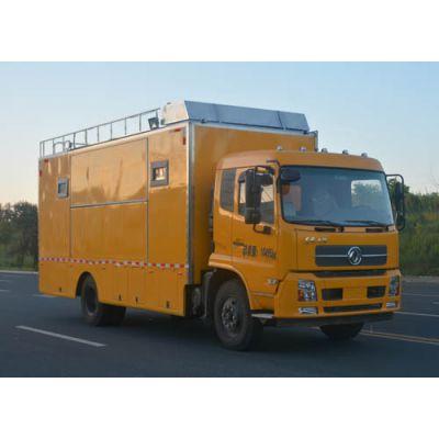 东风天锦DFL1160BX1V流动餐饮车 移动炊事车