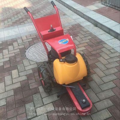 百一电动手推切桩机可调节式切桩机水泥桩切割机