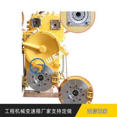山工SEM653装载机变速箱扩大驱动轮转矩变速器的作用
