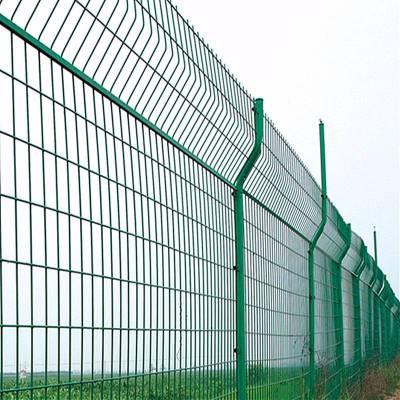 框架护栏网 绿色双边护栏 成都道路护栏 山区护栏隔离