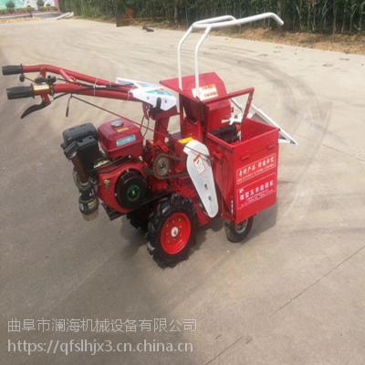 家用小型高效率掰棒子机 多功能柴油玉米单行收获机 高品质收获机械