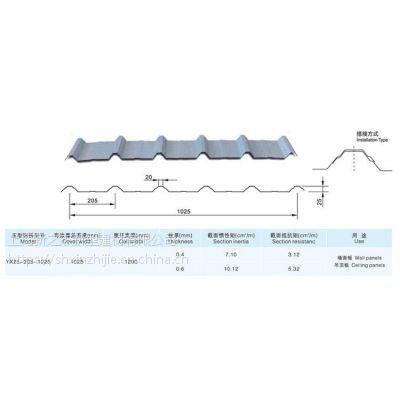 宣城屋面彩钢板YX28-205-1025型新之杰压型钢板厂家