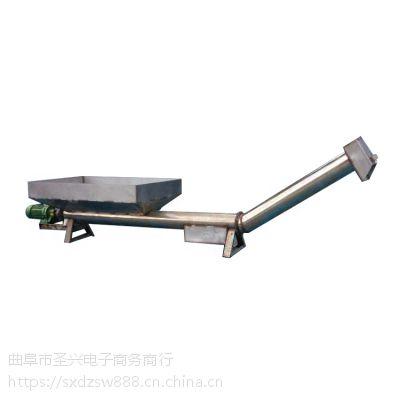 U型槽式螺旋提升机多用途 干粉料螺旋输送机型号专业制作