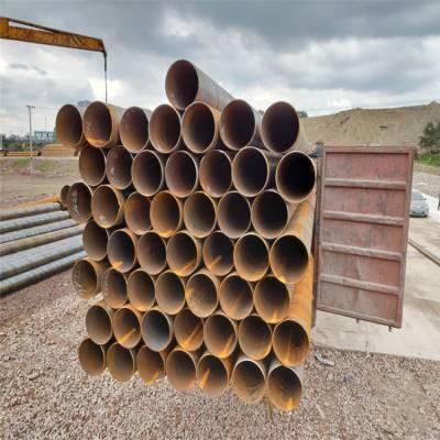 重庆厚壁螺旋钢管426*8排污焊管现货