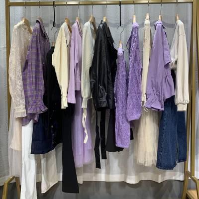 广州石井女装尾货批发市场 广州依兰品牌折扣女装走份 唯众良品