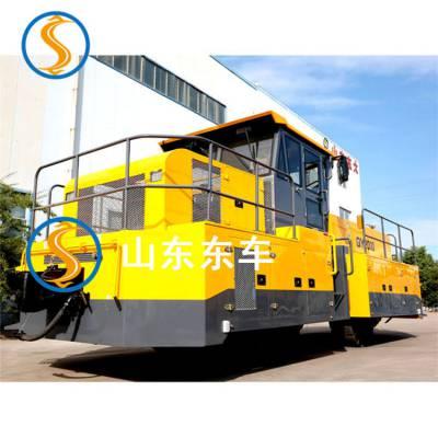 天津销售油田起重机型轨道牵引车选择合适吨位的产品