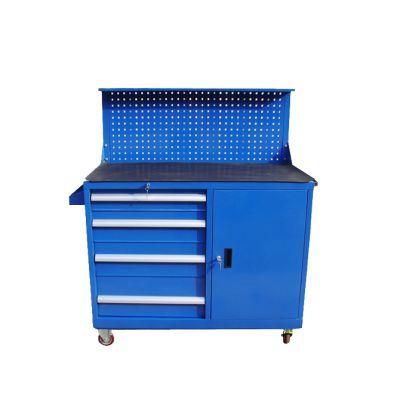 阳江加厚工具柜/层板式工作台/储物柜利欣供应