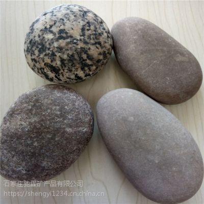 驰霖矿业生产出售 石家庄别墅造景鹅卵石 庭院铺设鹅卵石