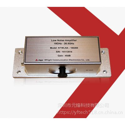 rflight/纳特NTWLNA-00000110宽带固态低噪声功率放大器9kHz~1GHz