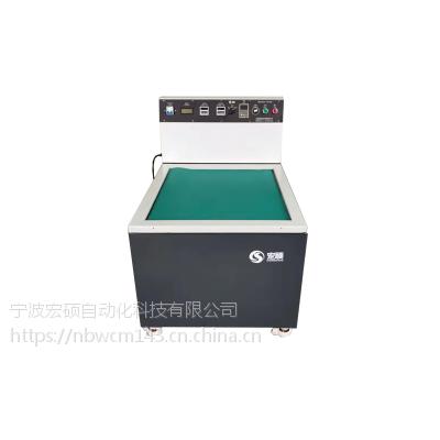 铝合金散热器机加工去毛刺机磁力研磨机