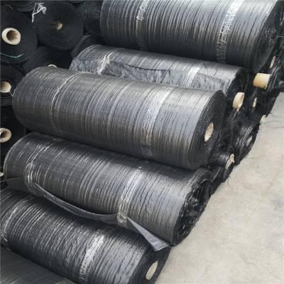 黑色防草布在天津柑橘园的使用说明