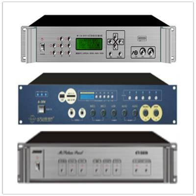 中河网络广播系统IP终端解码盒ZH-IP207 网络音箱