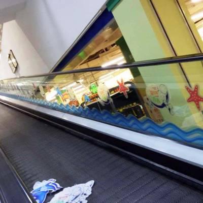 广州背胶玻璃贴UV喷绘定制橱窗海报超透贴纸彩白彩打印定制