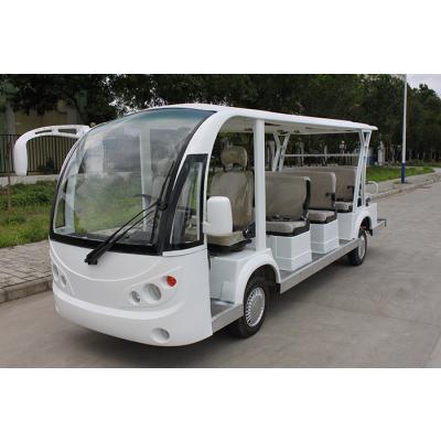 11座电动旅游观光车 厂家直销可定制颜色 景区观光游览车 旅游观光车
