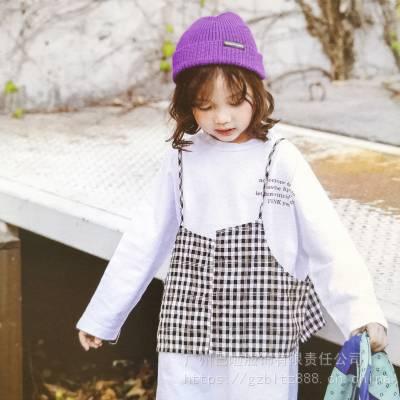 《花田彩+丫噜丫噜》新款时尚韩版童装折扣尾货货源供应