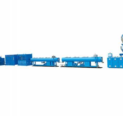 单螺杆pvc管材挤出设备_燿安装备_单螺杆_挡水条_35单螺杆