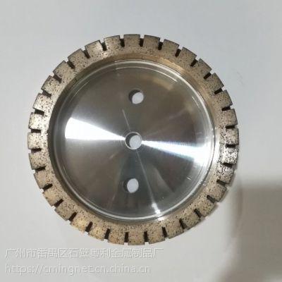金刚石砂轮外齿金刚石磨轮玻璃磨边轮双边轮直边轮厂家直供