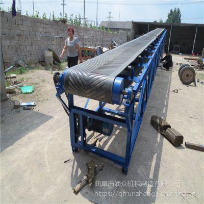 皮带输送机秒速1米 江苏装卸粮食传送机 成袋物料装车输送机