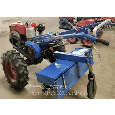 柴油农用手扶式犁地机 多功能水旱两用手扶拖拉机