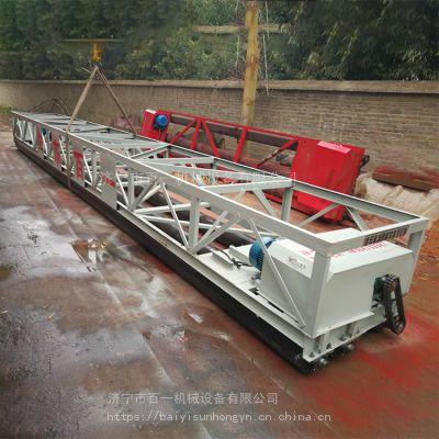 百一牌10米桥面摊铺机 框架式振动梁 219路面摊铺机批发