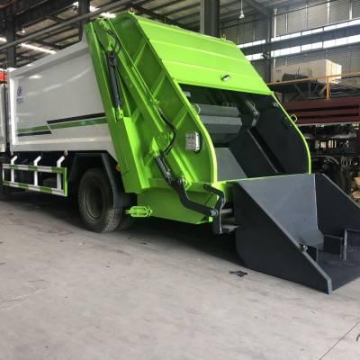 压缩垃圾车程力后装压缩式垃圾车生产厂家