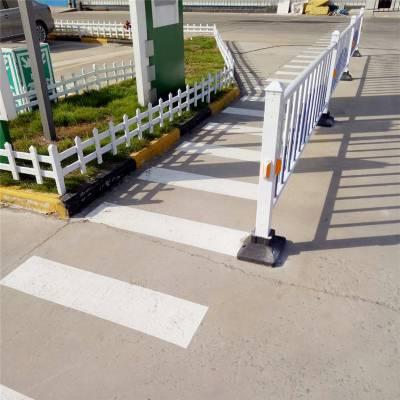 河南护栏厂信阳固始道路交通防撞道路护栏 60CM高pvc塑钢道路马路护栏市政护栏