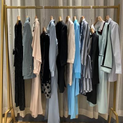 山西华北服装批发市场 广州沙河品牌折扣女装尾货走份 唯众良品