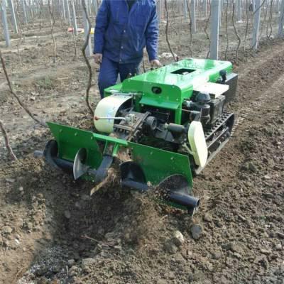 35马力柴油动力履带机 农用机械多用型开沟机