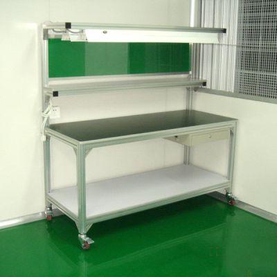 上海厂家定做 铝合金移动式工作台 |站立式装配作业台 设计定制