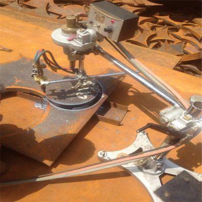 氧气乙炔钢板切圆机 600型1000型单双头割圆机