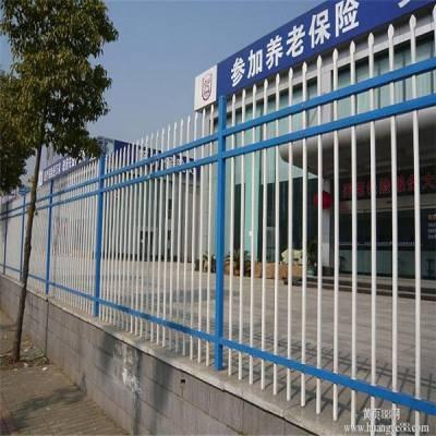 海南锌钢围栏直销 1.8m 1.5m现货两横杆三横杆锌钢护栏库存