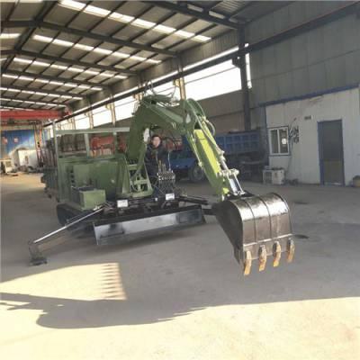 重庆农用运输车大型履带随车挖价格表 客户至上 济宁市恒泰源工程机械供应