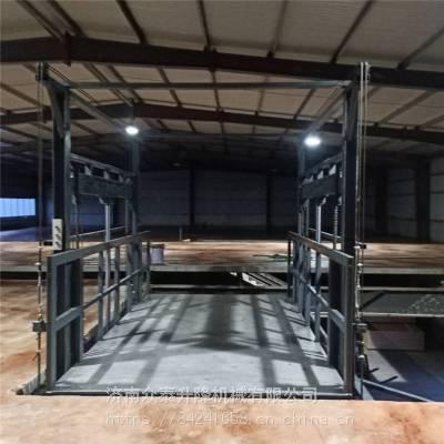 厂家定制固定式升降机 厂房升降货梯 大吨位升降平台货物提升机
