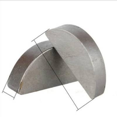 普通半圆键源头供应 高强度半圆键长期批发 软鑫紧固件