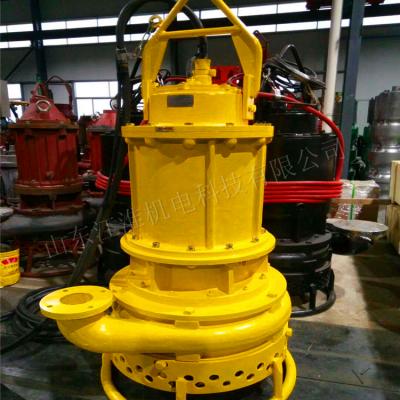 排污铁砂泵 耐用排沙泵机组 大颗粒抽沙机泵(山东江淮)
